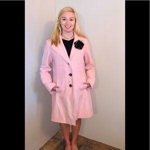 Worthington pink trench coat size L